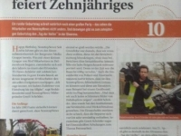 Gerrit Schröder - Zeitungsartikel